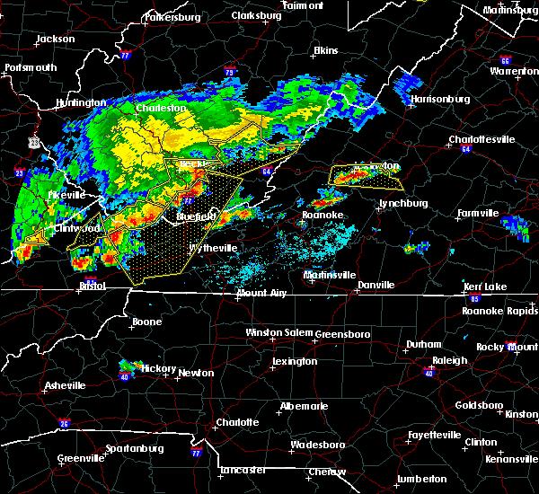 Radar Image for Severe Thunderstorms near East Lexington, VA at 5/29/2019 4:16 PM EDT