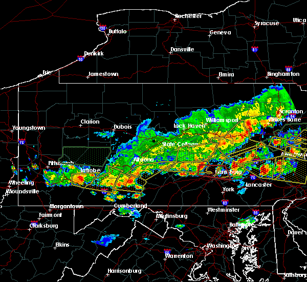 Radar Image for Severe Thunderstorms near Rutherford, PA at 5/29/2019 4:21 PM EDT