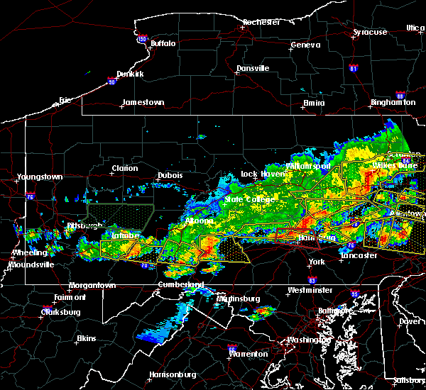 Radar Image for Severe Thunderstorms near Rutherford, PA at 5/29/2019 4:39 PM EDT