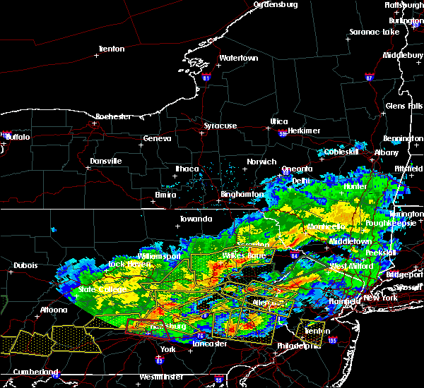 Radar Image for Severe Thunderstorms near East Side, PA at 5/29/2019 4:41 PM EDT