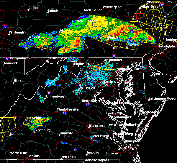 Radar Image for Severe Thunderstorms near Westminster, MD at 5/29/2019 4:49 PM EDT