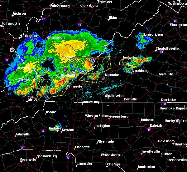 Radar Image for Severe Thunderstorms near East Lexington, VA at 5/29/2019 4:56 PM EDT