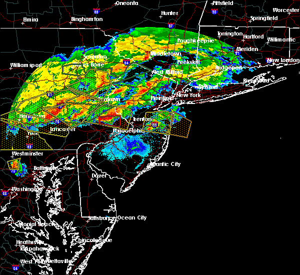 Radar Image for Severe Thunderstorms near Village Shires, PA at 5/29/2019 5:11 PM EDT