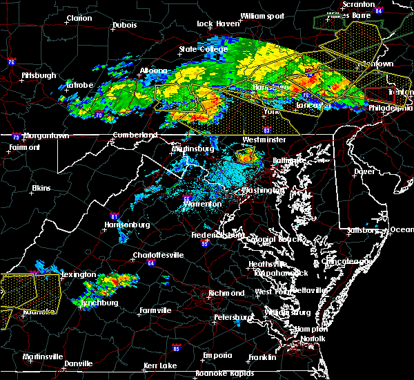 Radar Image for Severe Thunderstorms near Cockeysville, MD at 5/29/2019 5:17 PM EDT