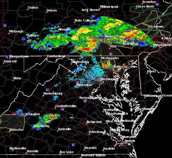 Radar Image for Severe Thunderstorms near Eldersburg, MD at 5/29/2019 5:24 PM EDT