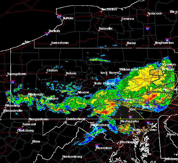 Radar Image for Severe Thunderstorms near Pleasant Hill, PA at 5/29/2019 5:24 PM EDT