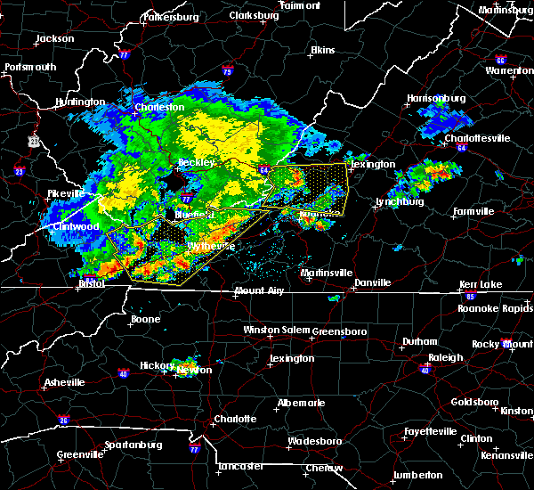 Radar Image for Severe Thunderstorms near Timberlake, VA at 5/29/2019 5:29 PM EDT