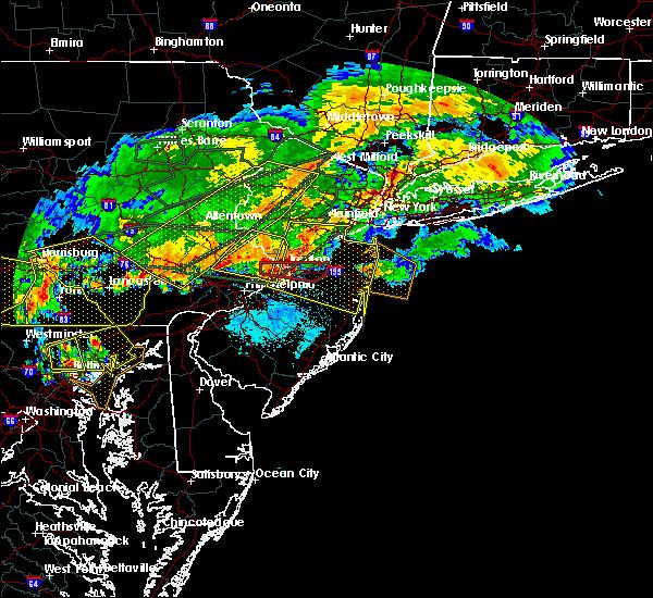 Radar Image for Severe Thunderstorms near Allentown, NJ at 5/29/2019 5:50 PM EDT
