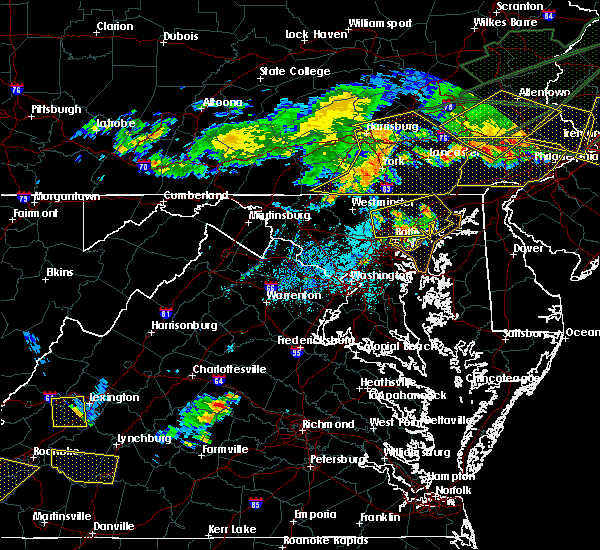 Radar Image for Severe Thunderstorms near Essex, MD at 5/29/2019 5:52 PM EDT