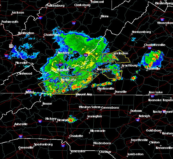Radar Image for Severe Thunderstorms near Galax, VA at 5/29/2019 6:03 PM EDT