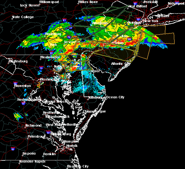 Radar Image for Severe Thunderstorms near Kennedyville, MD at 5/29/2019 6:39 PM EDT