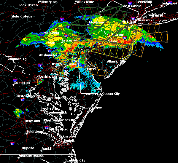Radar Image for Severe Thunderstorms near Kennedyville, MD at 5/29/2019 6:43 PM EDT