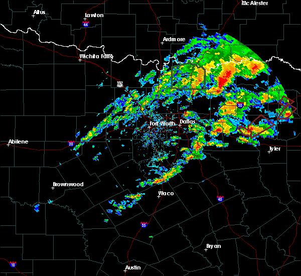 Radar Image for Severe Thunderstorms near Grand Saline, TX at 5/29/2019 5:52 PM CDT
