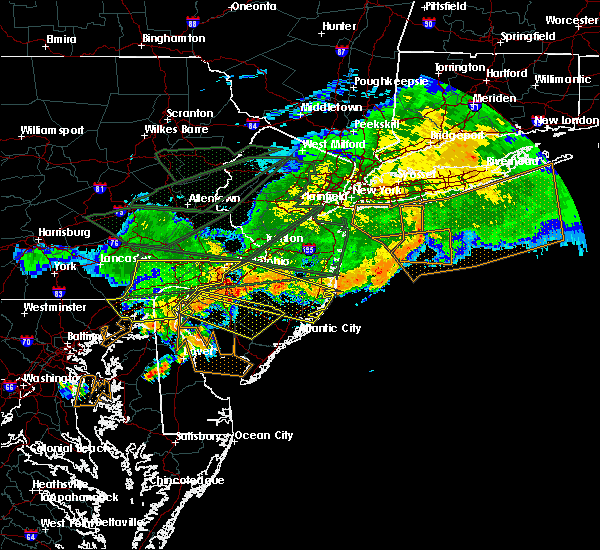Radar Image for Severe Thunderstorms near Clayton, NJ at 5/29/2019 7:11 PM EDT