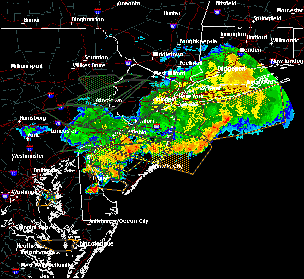 Radar Image for Severe Thunderstorms near Clayton, NJ at 5/29/2019 7:37 PM EDT