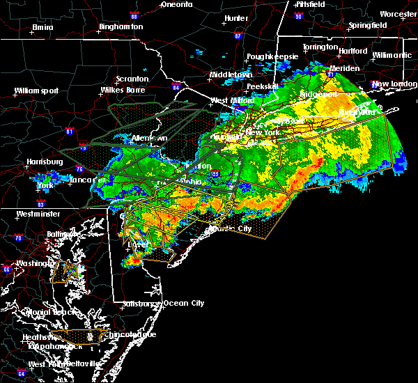 Radar Image for Severe Thunderstorms near Sea Isle City, NJ at 5/29/2019 7:36 PM EDT