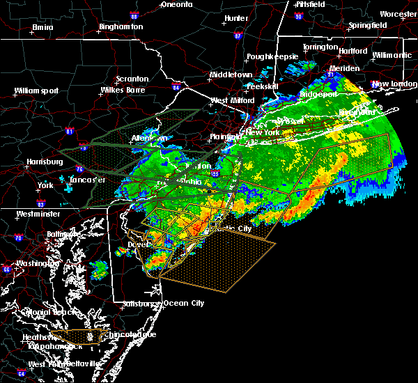Radar Image for Severe Thunderstorms near Clayton, NJ at 5/29/2019 7:56 PM EDT