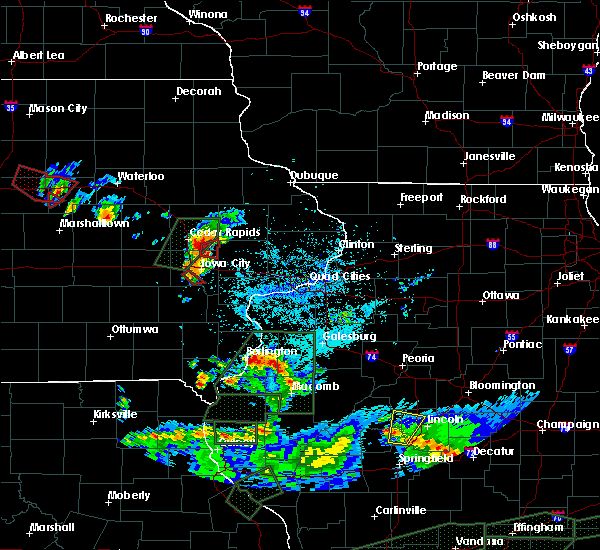 Radar Image for Severe Thunderstorms near Hills, IA at 5/29/2019 8:55 PM CDT