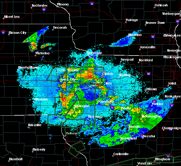 Radar Image for Severe Thunderstorms near Andover, IA at 5/29/2019 11:00 PM CDT