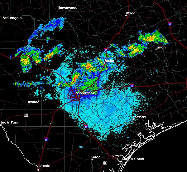 Radar Image for Severe Thunderstorms near Bulverde, TX at 5/30/2019 2:31 AM CDT