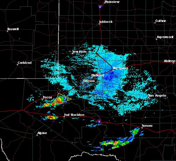 Radar Image for Severe Thunderstorms near Wickett, TX at 5/30/2019 9:18 AM CDT