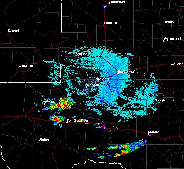 Radar Image for Severe Thunderstorms near Wickett, TX at 5/30/2019 9:41 AM CDT