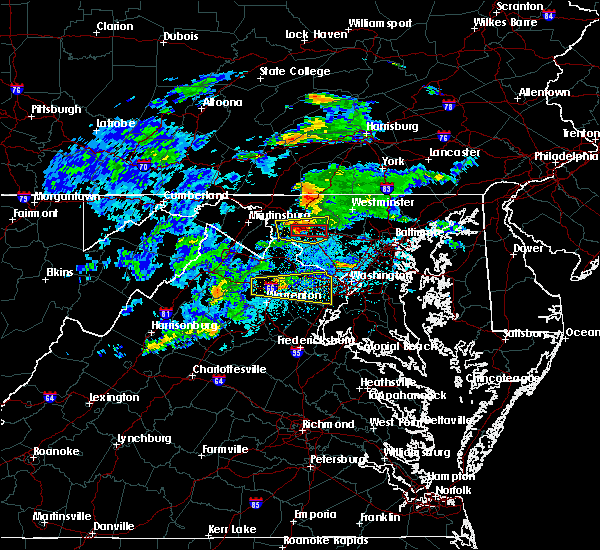 Radar Image for Severe Thunderstorms near Warrenton, VA at 5/30/2019 2:44 PM EDT