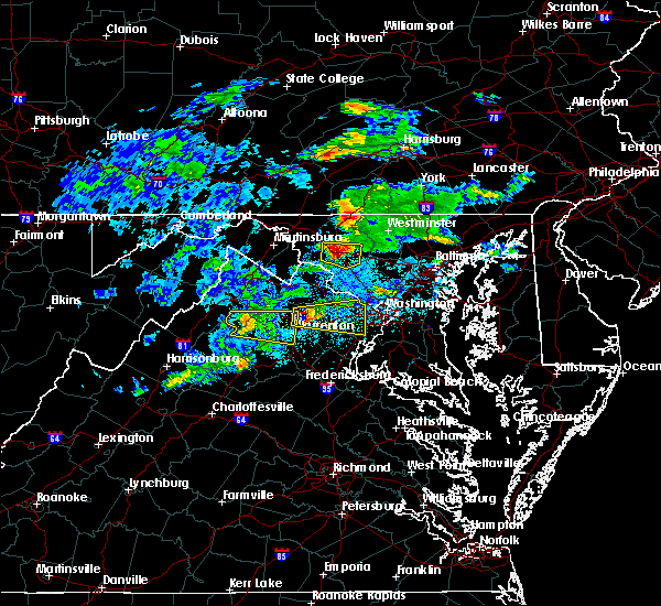 Radar Image for Severe Thunderstorms near Middletown, MD at 5/30/2019 2:52 PM EDT