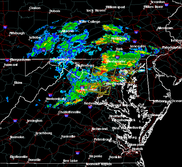 Radar Image for Severe Thunderstorms near Vienna, VA at 5/30/2019 3:13 PM EDT