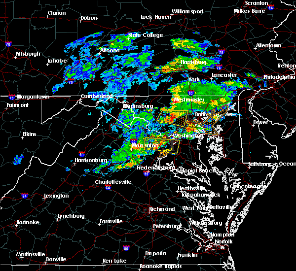 Radar Image for Severe Thunderstorms near North Laurel, MD at 5/30/2019 3:25 PM EDT