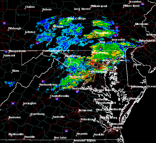 Radar Image for Severe Thunderstorms near Burke, VA at 5/30/2019 3:27 PM EDT