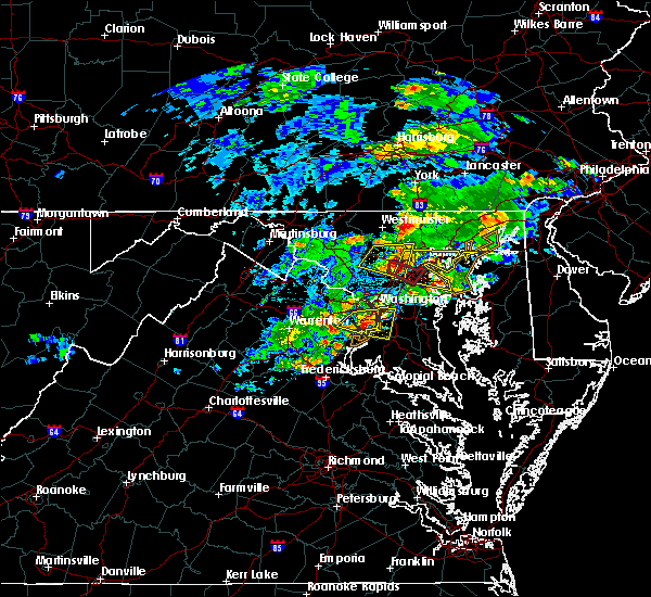 Radar Image for Severe Thunderstorms near Fort Hunt, VA at 5/30/2019 3:38 PM EDT