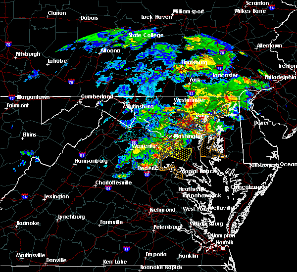 Radar Image for Severe Thunderstorms near Croom, MD at 5/30/2019 3:45 PM EDT