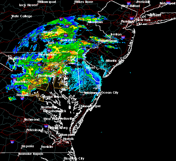 Radar Image for Severe Thunderstorms near Kent Narrows, MD at 5/30/2019 3:56 PM EDT