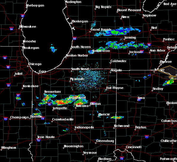 Radar Image for Severe Thunderstorms near Mier, IN at 5/30/2019 4:07 PM EDT