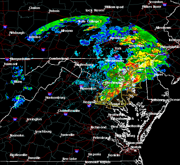 Radar Image for Severe Thunderstorms near St. Leonard, MD at 5/30/2019 4:23 PM EDT