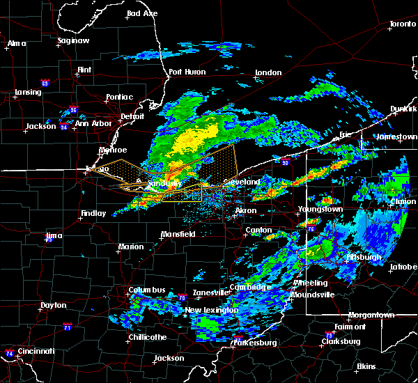 Radar Image for Severe Thunderstorms near Oberlin, OH at 5/30/2019 4:27 PM EDT