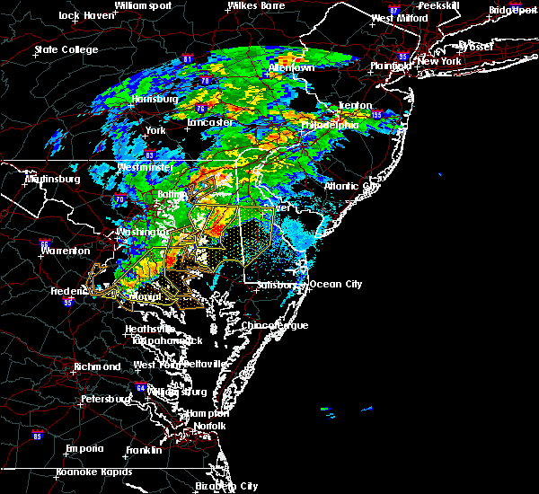 Radar Image for Severe Thunderstorms near Dover, DE at 5/30/2019 4:35 PM EDT