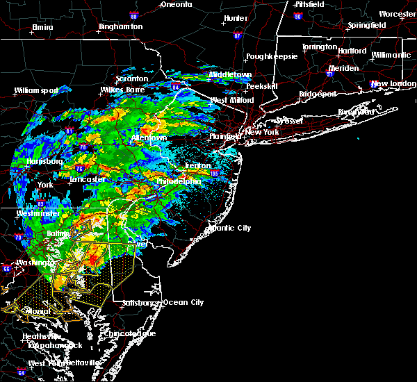 Radar Image for Severe Thunderstorms near Roebling, NJ at 5/30/2019 4:39 PM EDT