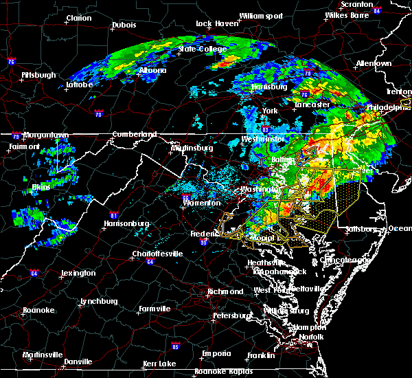 Radar Image for Severe Thunderstorms near St. Leonard, MD at 5/30/2019 4:43 PM EDT
