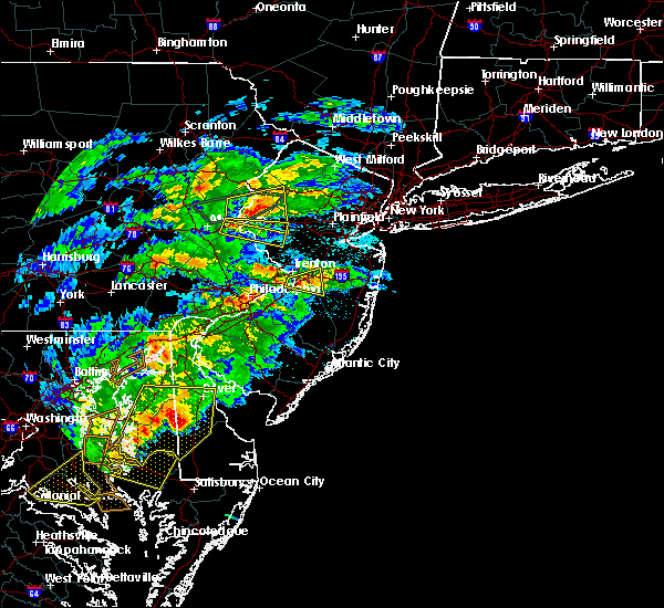 Radar Image for Severe Thunderstorms near Roebling, NJ at 5/30/2019 4:55 PM EDT