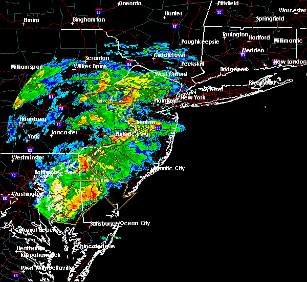 Radar Image for Severe Thunderstorms near Roebling, NJ at 5/30/2019 5:10 PM EDT