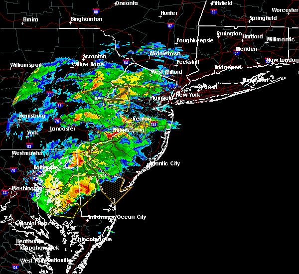 Radar Image for Severe Thunderstorms near Allentown, NJ at 5/30/2019 5:10 PM EDT