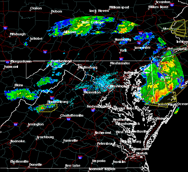 Radar Image for Severe Thunderstorms near Harrisonburg, VA at 5/30/2019 5:29 PM EDT