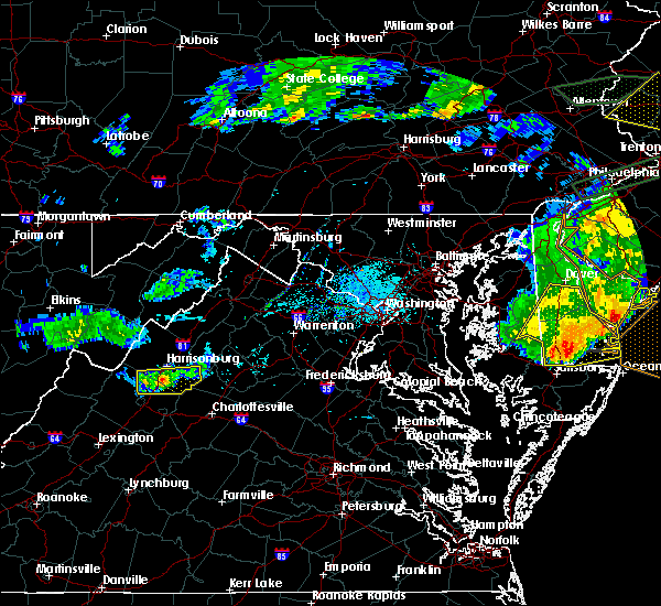 Radar Image for Severe Thunderstorms near Harrisonburg, VA at 5/30/2019 5:41 PM EDT