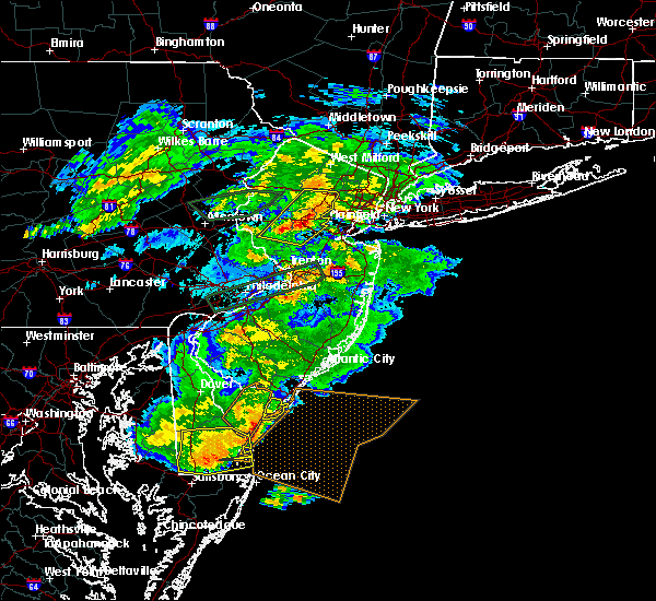 Radar Image for Severe Thunderstorms near Flemington, NJ at 5/30/2019 5:46 PM EDT