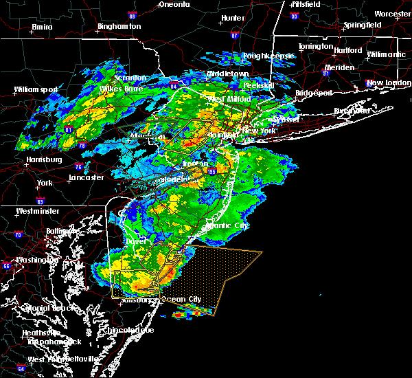 Radar Image for Severe Thunderstorms near Flemington, NJ at 5/30/2019 5:58 PM EDT