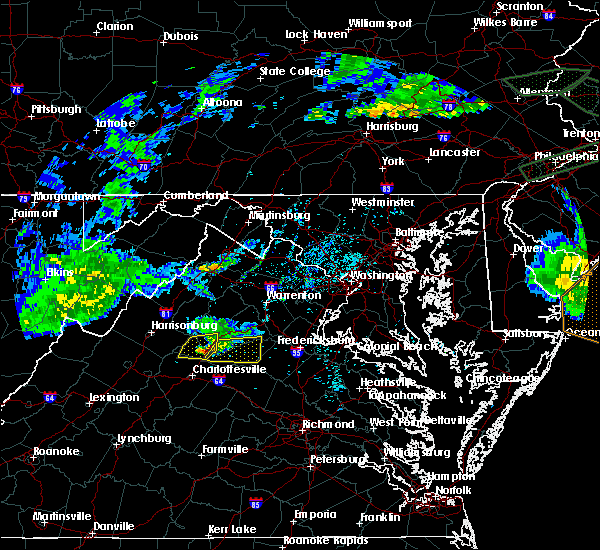 Radar Image for Severe Thunderstorms near Orange, VA at 5/30/2019 6:34 PM EDT