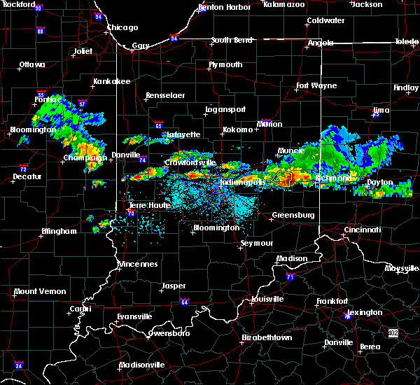 Radar Image for Severe Thunderstorms near Straughn, IN at 5/30/2019 8:10 PM EDT