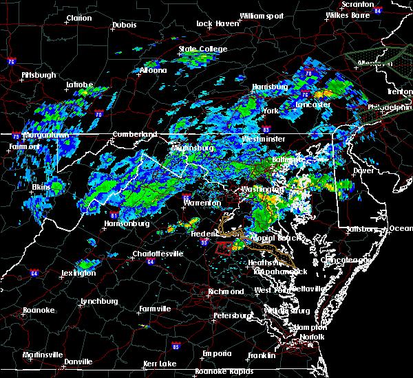 Radar Image for Severe Thunderstorms near Port Royal, VA at 5/30/2019 8:14 PM EDT